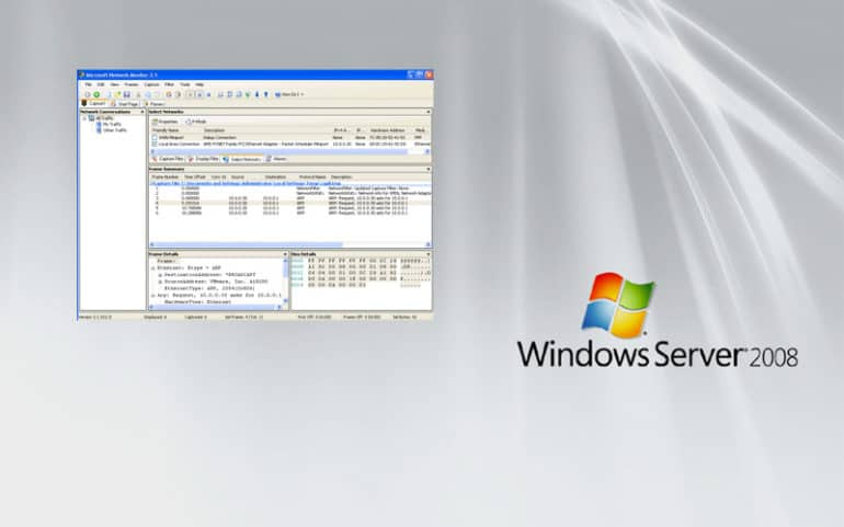 How to Monitor Network Traffic on Windows Server 2008