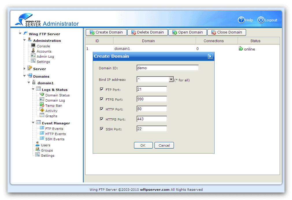 wing ftp server 4