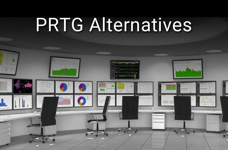 PRTG Alternatives for Network Monitoring & Bandwidth