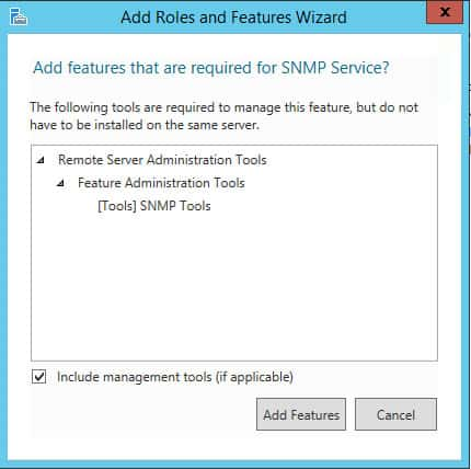 add features snmp
