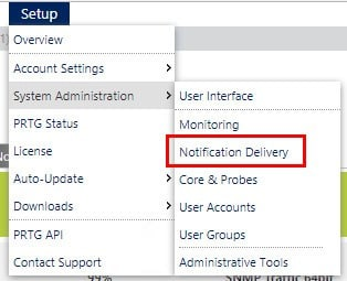 Notification Delivery Setyo