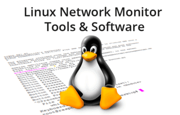 linux network monitoring tools and software
