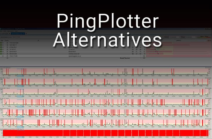 pingplotter alternatives